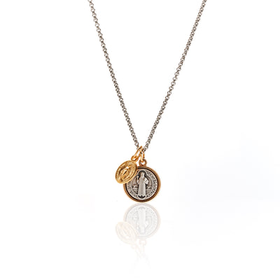 Miraculous / Necklace / Silver + Gold