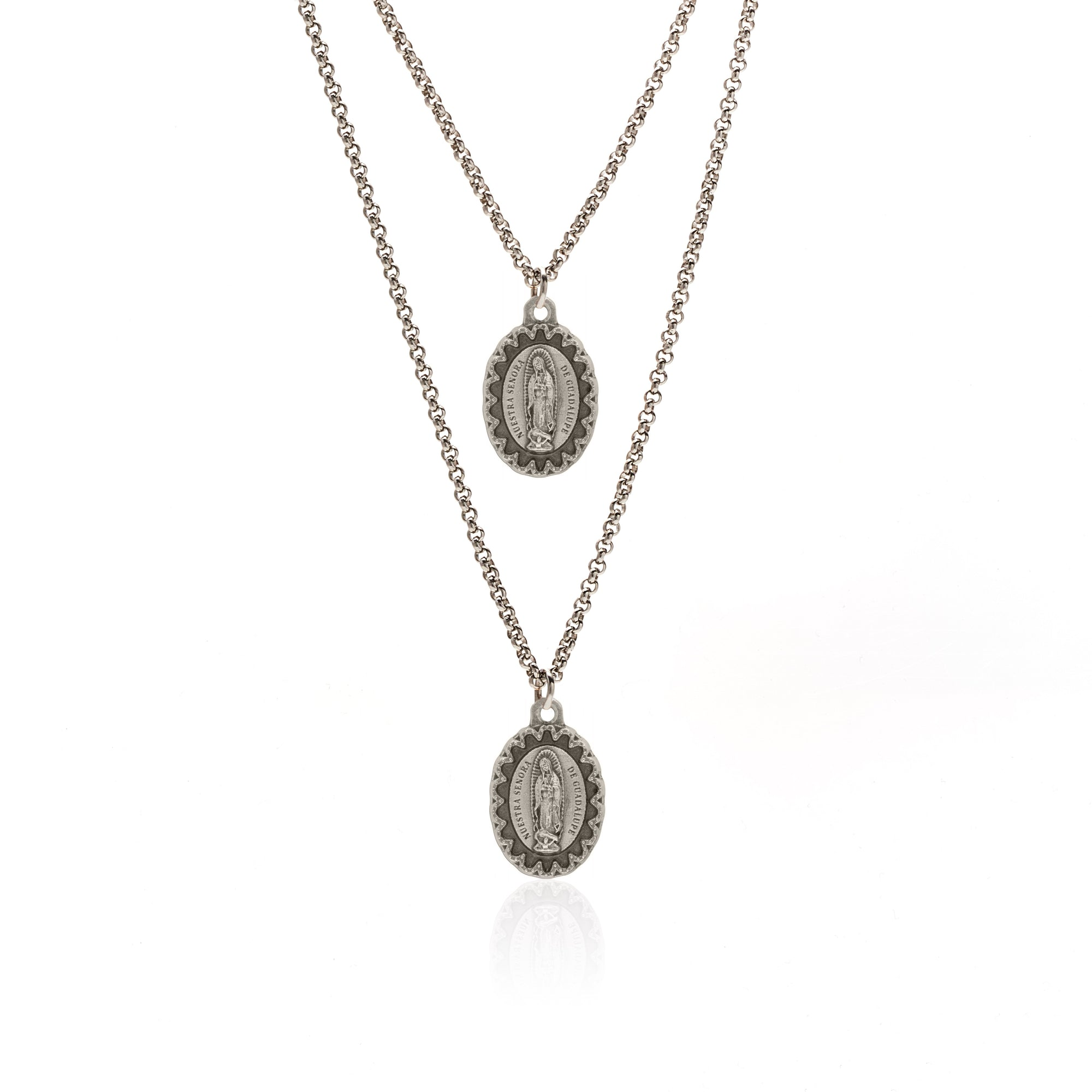 Silk&Steel Jewellery Silver Uplifting Necklace - Faithful