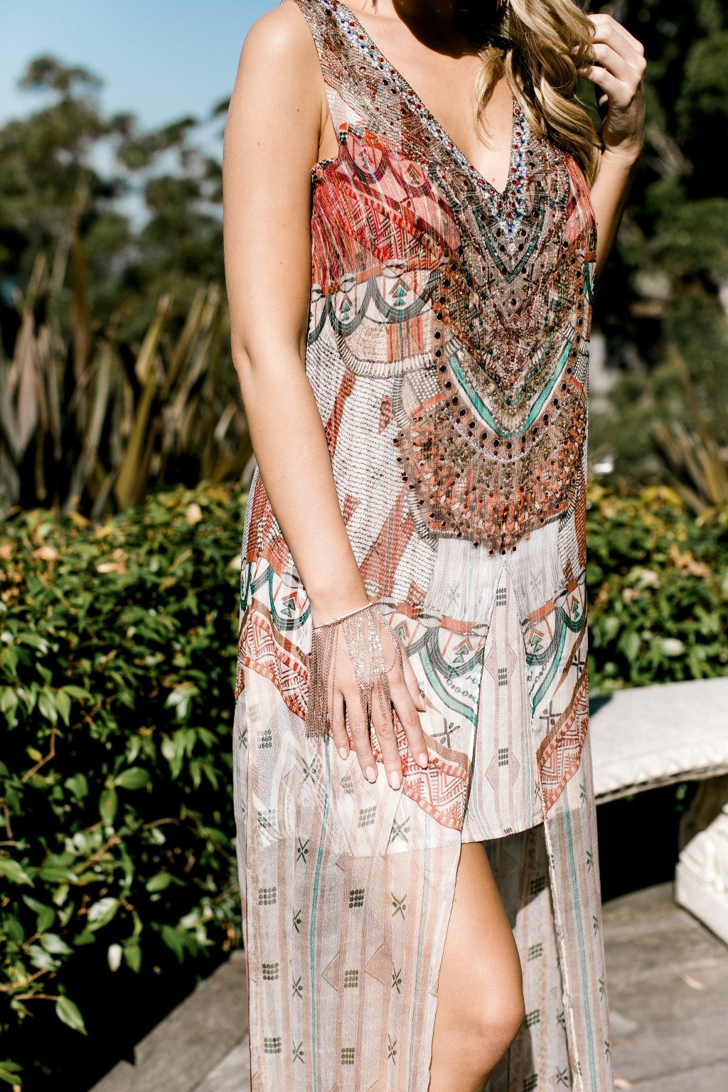 Marrakesh Hi-lo dress