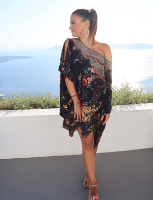 Night Garden Kaftan