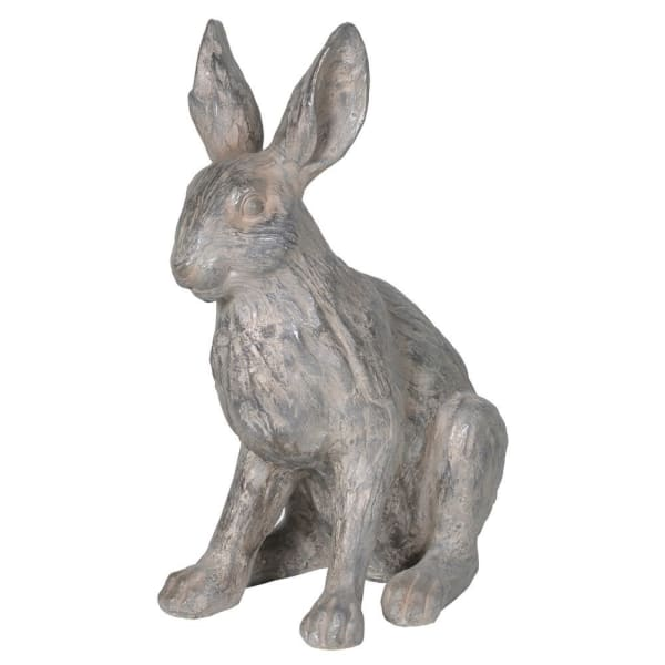 Grey Rabbit Ornament