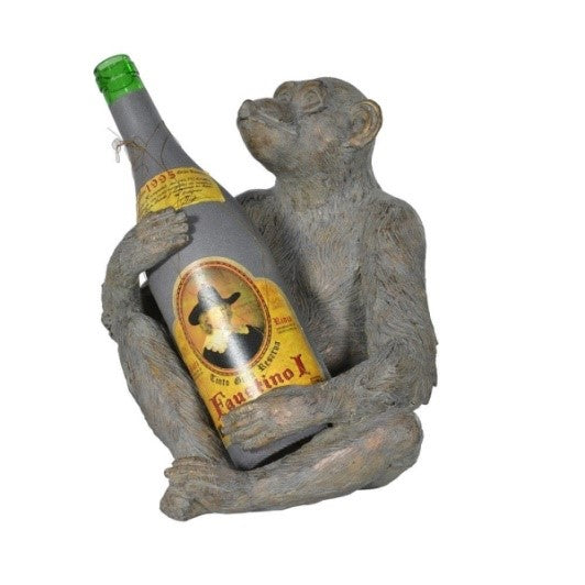 Grey Monkey Bottle Holder