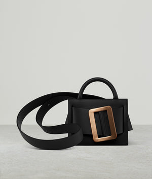 BOBBY 18 GOLD BUCKLE BLACK