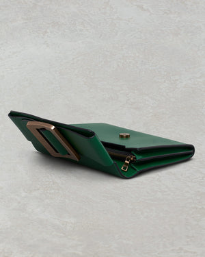 BUCKLE TRAVEL CASE BOTTLE GREEN