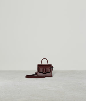 KARL CHARM WITH STRAP COGNAC