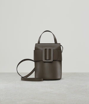 BUCKLE TALL POUCH LEATHER BUCKLE