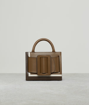 BOBBY 18 LEATHER BUCKLE TIRAMISU
