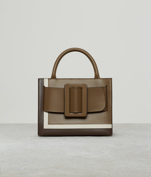 BOBBY 23 LEATHER BUCKLE TIRAMISU