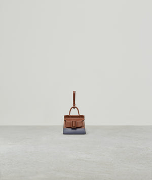 KARL CHARM WITH STRAP TWO-TONE NOCCIOLA / QUICKSILVER