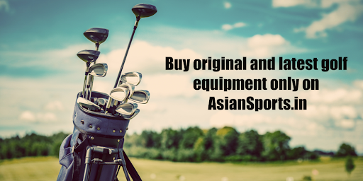 Buy original and latest golf equipment only on AsianSports.in