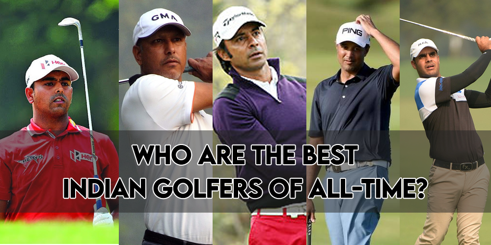 Who are the best Indian golfers of all-time?
