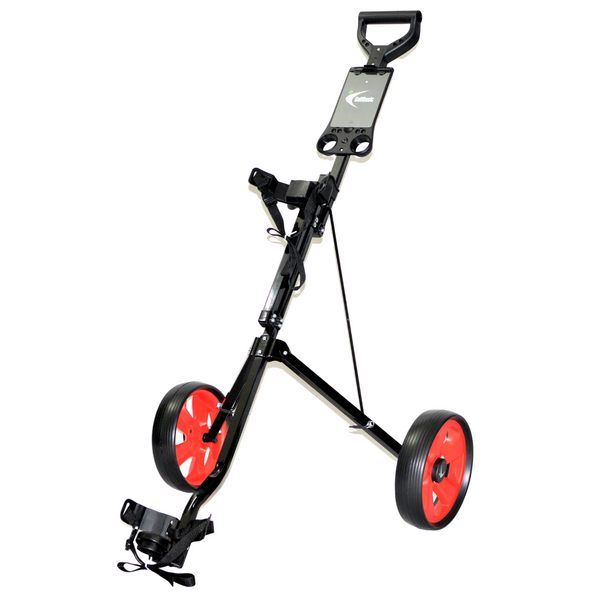 GolfBasic Two Wheel Trolley