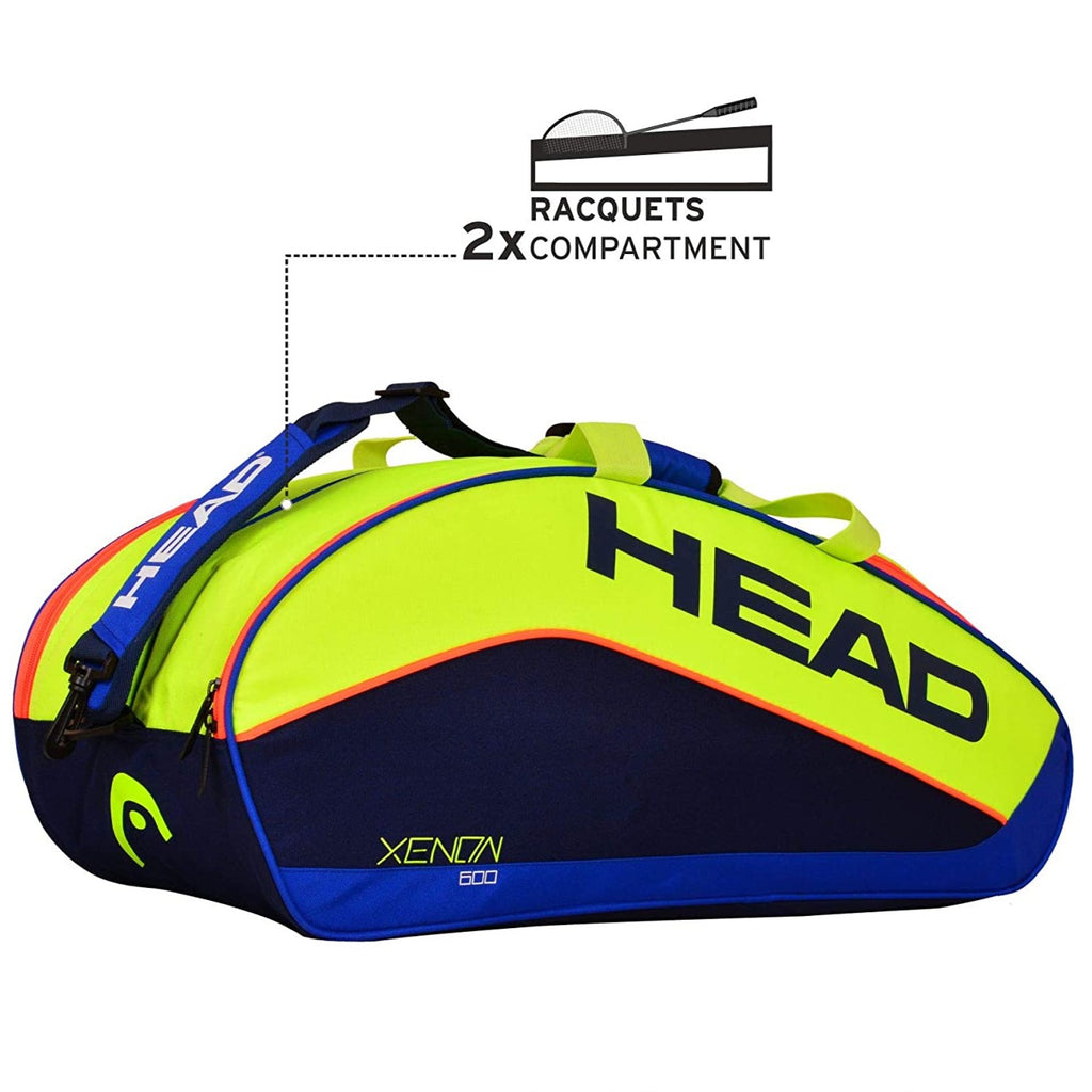 Head Xenon 600 Badminton Kit Bag