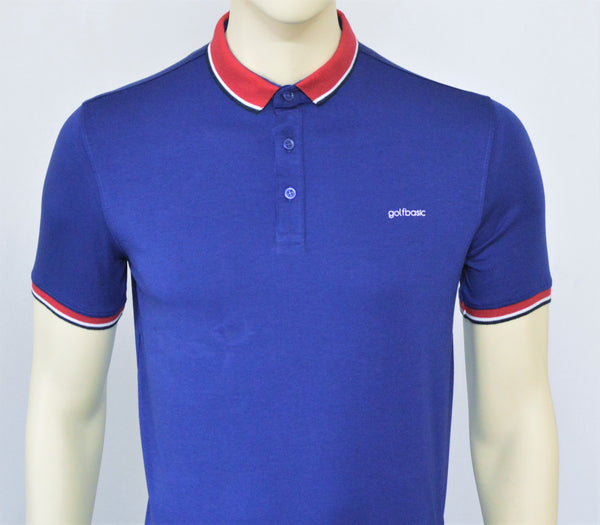 GolfBasic Cotton Tshirts (Navy)