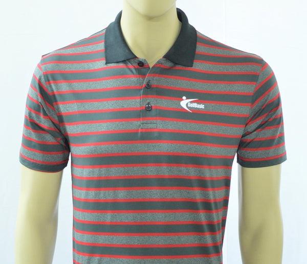 GolfBasic Dryfit Stripes T-shirt