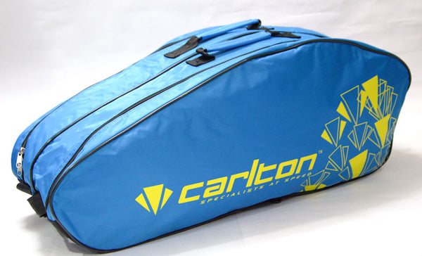 Carlton Airblade 2 Compartment Badminton Kit Bag (Blue)