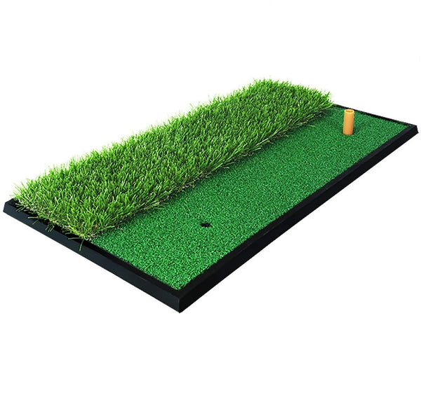 GolfBasic Golf Turf Practice Mat for Driving Hitting Chipping