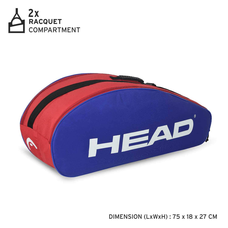 Head Ignition 6R Combi Badminton Kit Bag