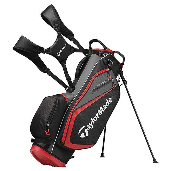 Taylormade Select Plus Stand Bag Red/Black
