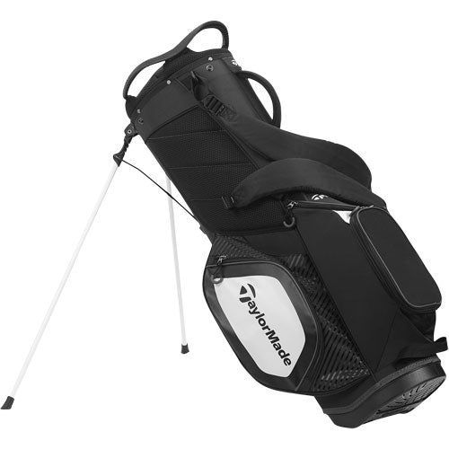 TaylorMade 8.0 Golf Stand Bag (Black/White)