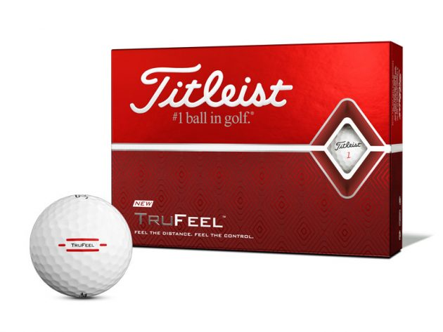 Titleist Tru-Feel Golf Balls (White)