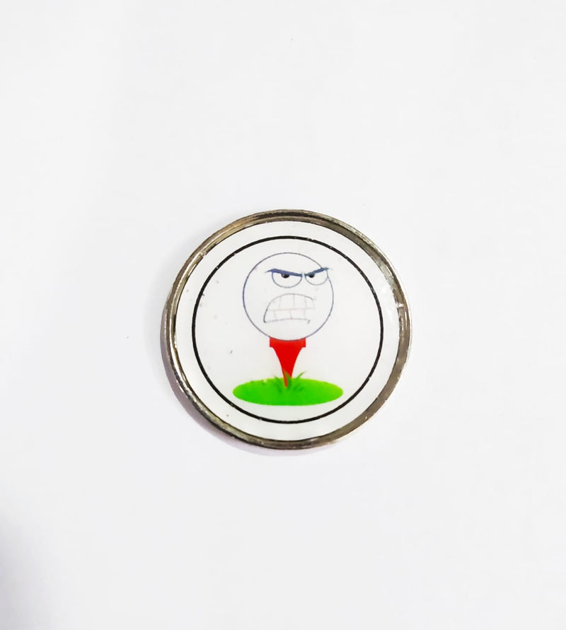 GolfBasic Angry Bird Golf Ball Marker & Hat Clip