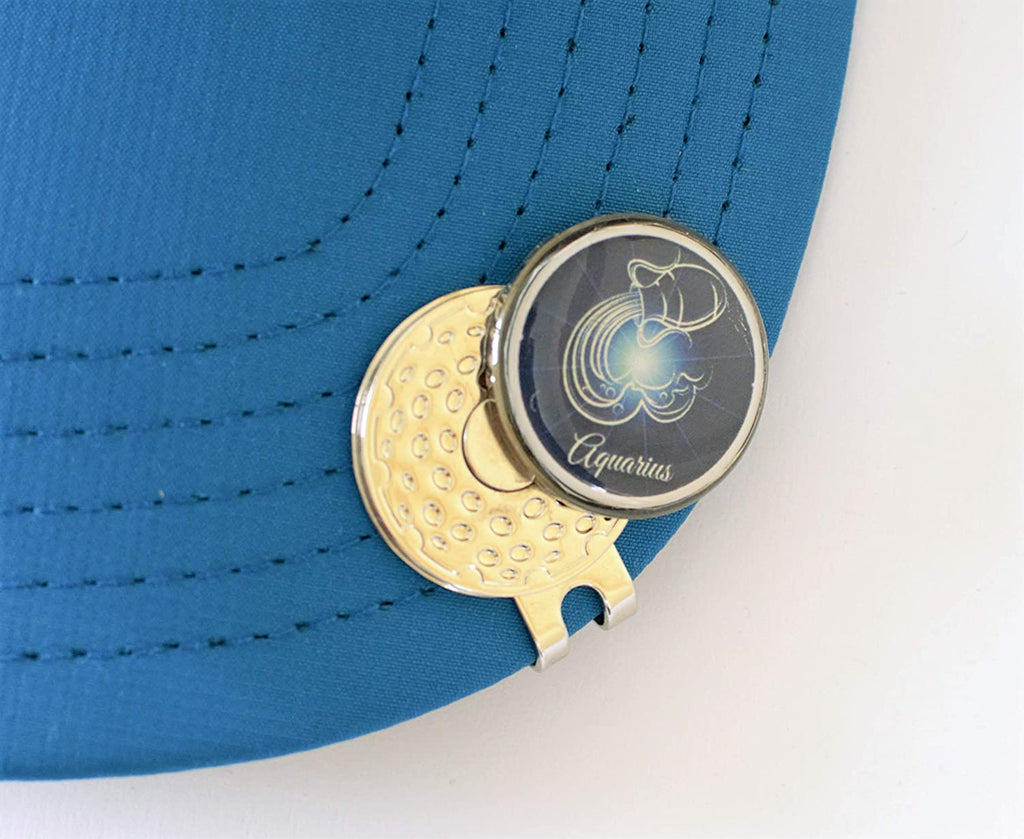 GolfBasic Zodiac Sign Golf Ball Marker - Aquarius