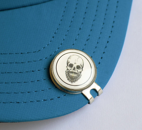 GolfBasic Skull Golf Magnetic Marker