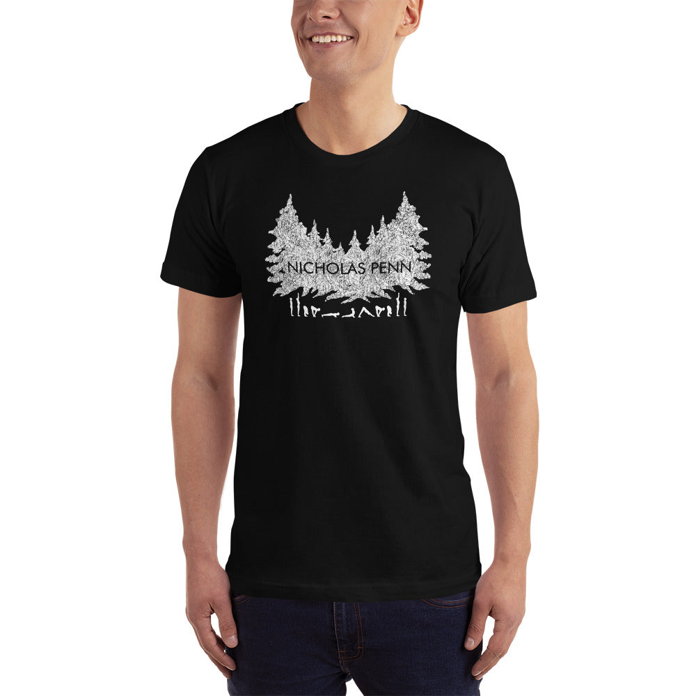Forest Yoga Mens T-Shirt