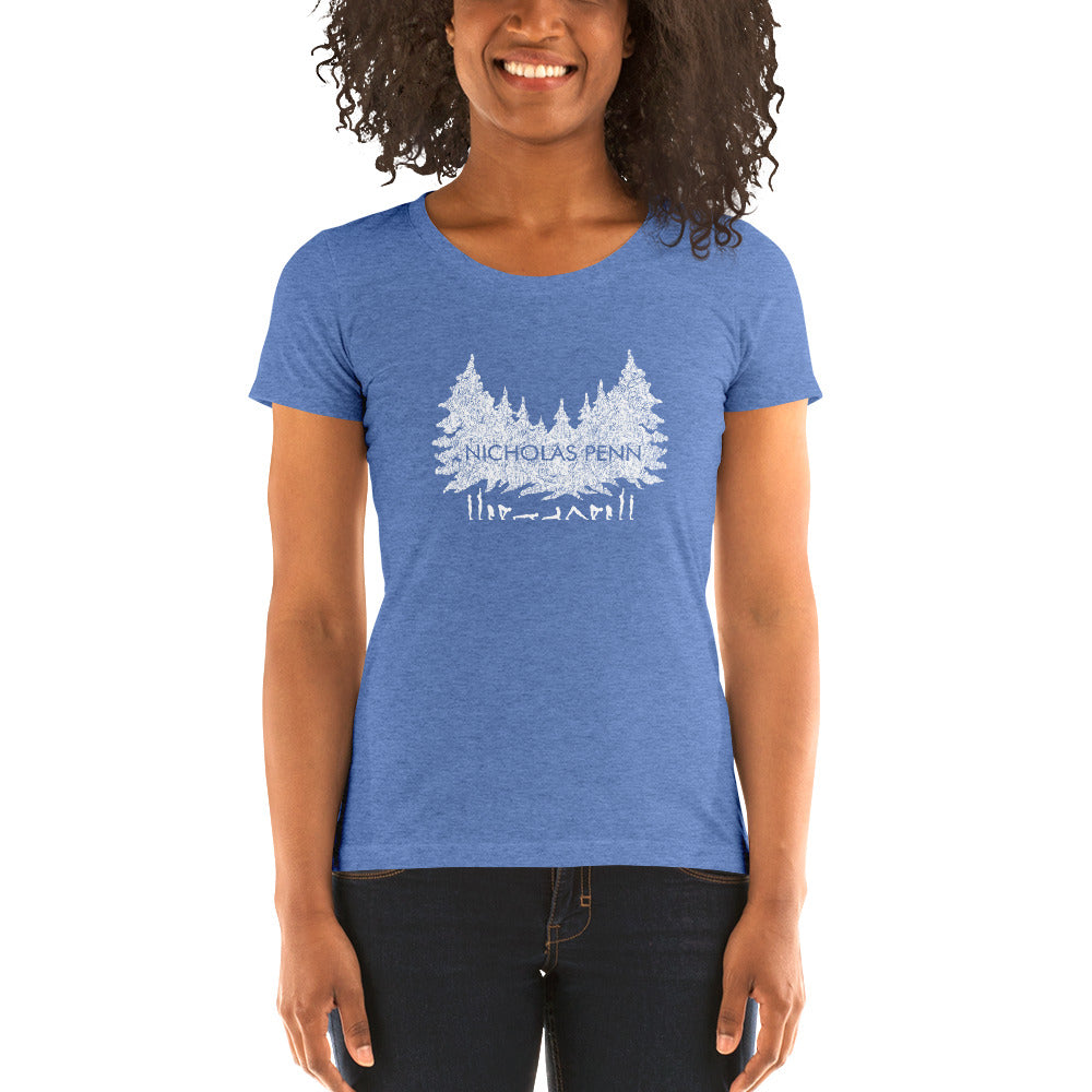 Forest Yoga Ladies T-shirt