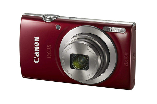 Canon IXUS 185 - 20 MP, Point & Shoot Camera, Red