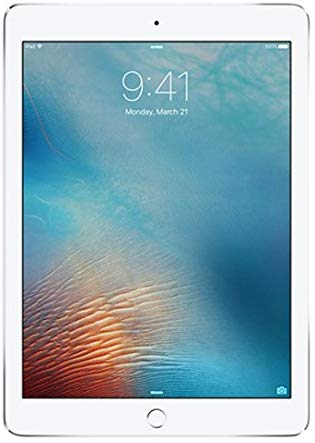 Apple iPad Pro (9.7 Inch, WiFi, 128GB) with Facetime - Silver (Certified Pre Owned)