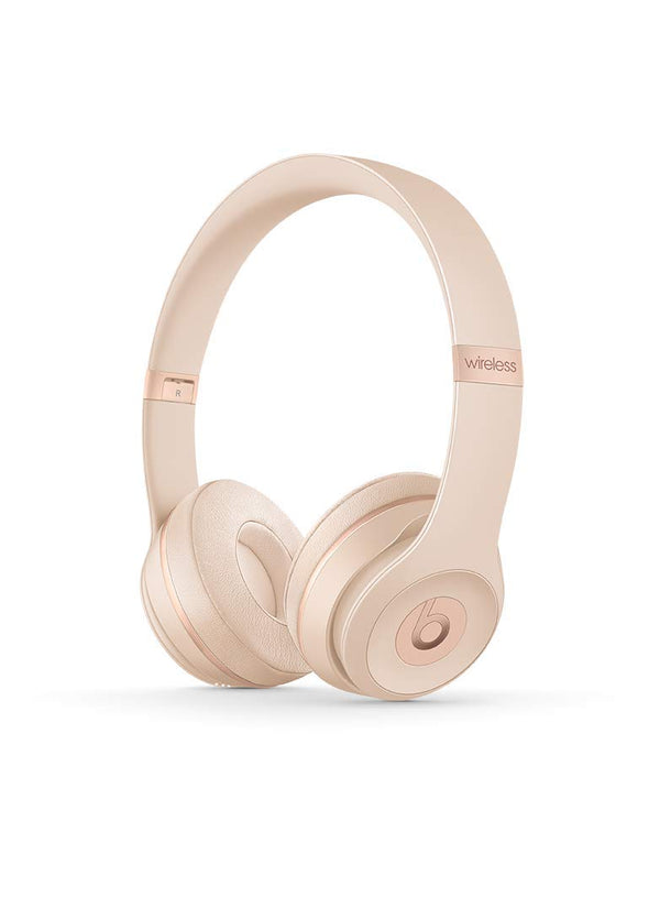 Beats Solo3 Wireless On-Ear Headphone - Matte Gold (Mr3Y2Ll/A)