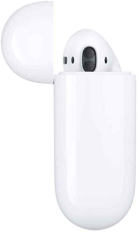 Apple AirPods with Wireless Charging Case (Latest Model) - White