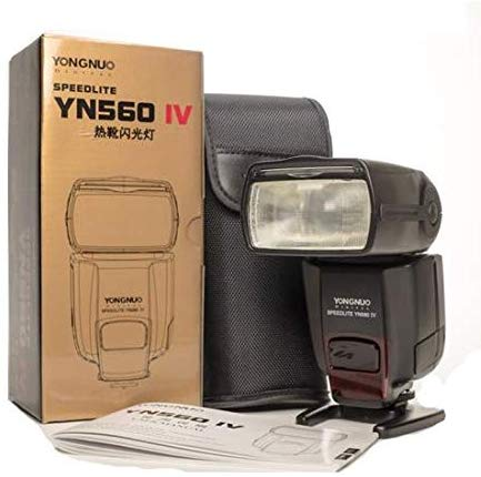 Yongnuo YN560-IV Speedlite with Powercell Battery & Charger
