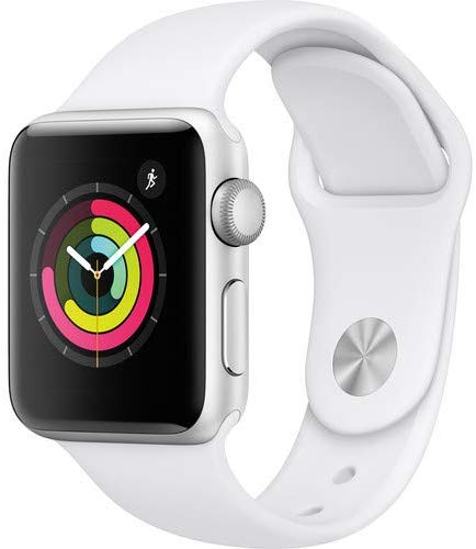 Apple Watch Series 3-42 mm, Silver Aluminum Case - MTF22