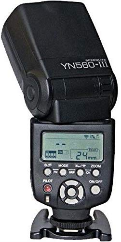 ONGNUO YN560-III YN-560III Wireless Flash Speedlite For Canon Nikon Pentax DSLR