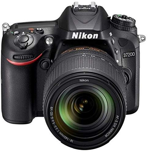 Nikon D7200-24.4 MP SLR Camera Black 18-140mm Lens Kit