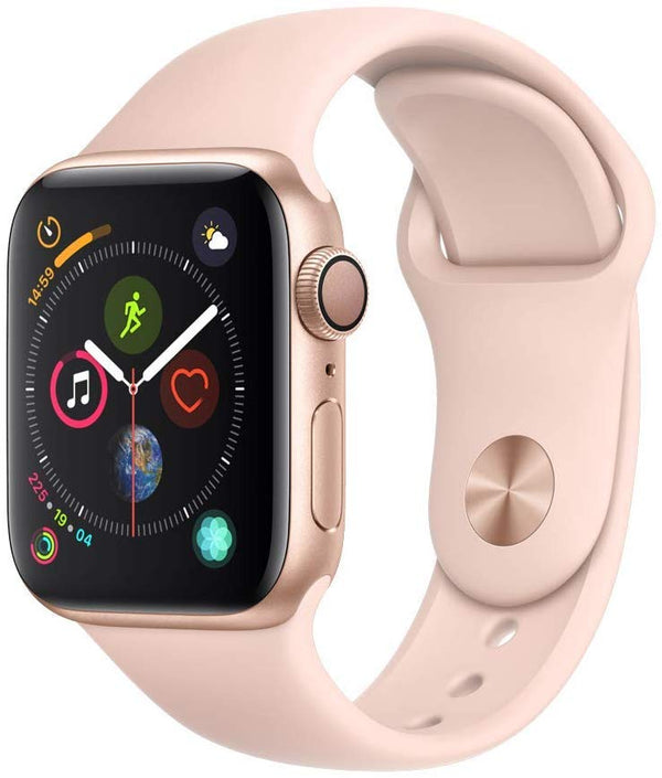 Apple Watch Series 4-40mm Aluminum Case with Pink