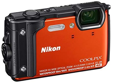 Nikon CoolPix W300-16 MP, Sport Action Camera, Orange