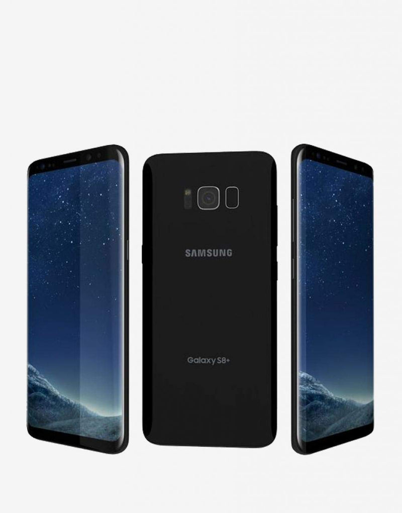 Samsung Galaxy S8+ Dual Sim - 64GB, 4G LTE, Midnight Black