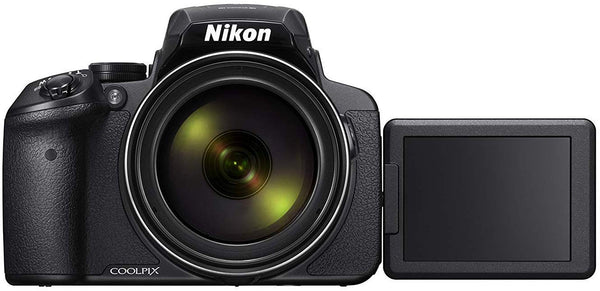 Nikon Coolpix P900, 16 MP, Point and Shoot Camera, Black