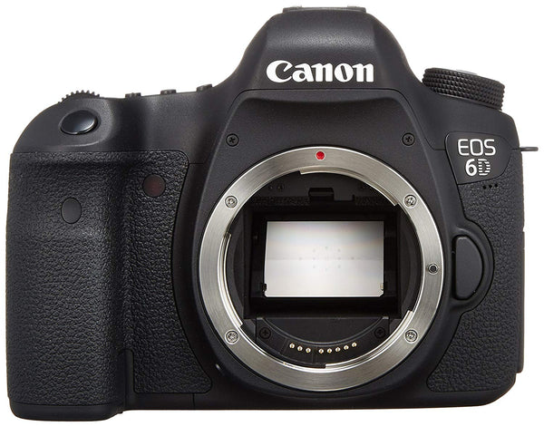 Canon EOS 6D Body Only - 20.2 MP, SLR Camera, Black