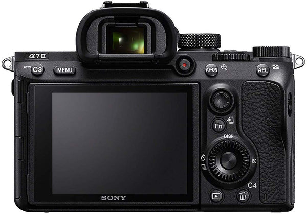 Sony Alpha A7 III Full-Frame Professional Camera 35mm sensor with SEL2870 Interchangeable Lens, 24.2 Megapixels - Black (ILCE-7M3K)