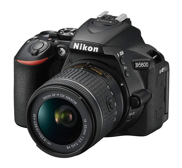 Nikon D5600 AF-P 18-55mm 3.5-5.6G VR Lens Kit - 24.2 MP DSLR Camera