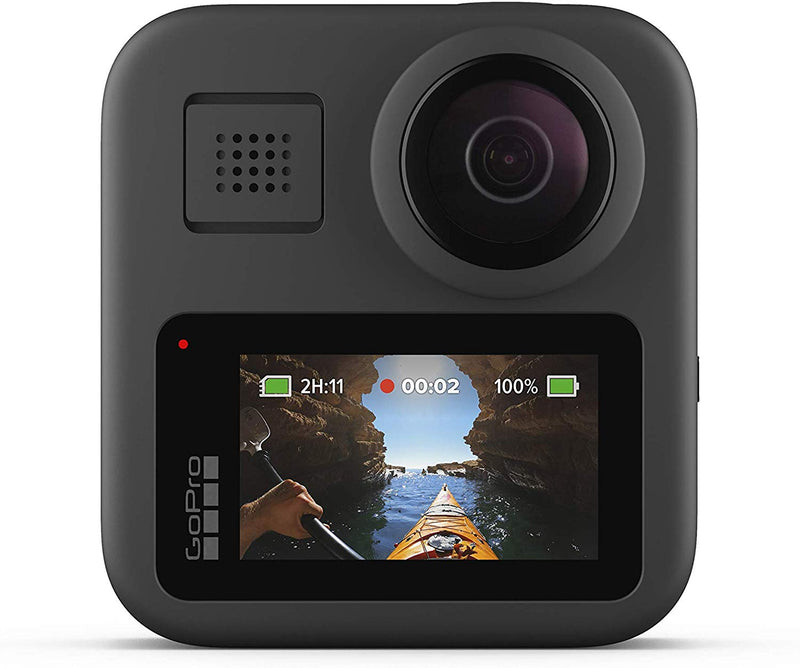 GoPro Max - Waterproof 360 Digital Action Camera with Unbreakable Stabilisation, Touch Screen and Voice Control - Live HD Streaming