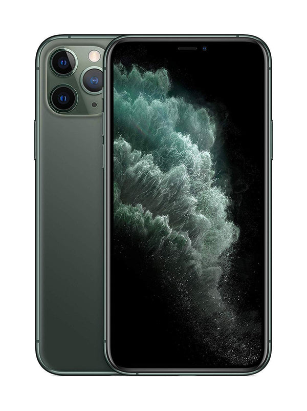 Apple iPhone 11 Pro with FaceTime - 256GB, 4G LTE, Midnight Green - International Version