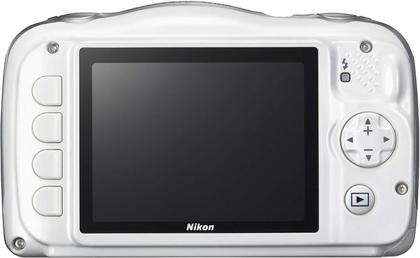 Nikon COOLPIX W100 13.2 MP Point & Shoot Digital Camera, White