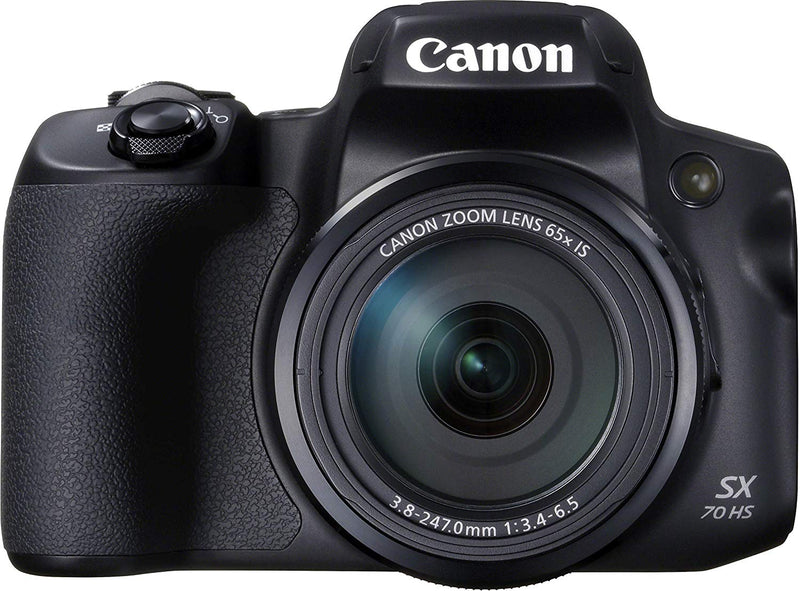 Canon power shot sx70 HS 4K UHD, 20.3 MP, black
