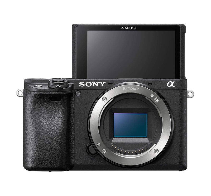 Sony A6400 Premium Digital E-Mount APS-C Camera Kit With 16-50 mm Lens (Black)